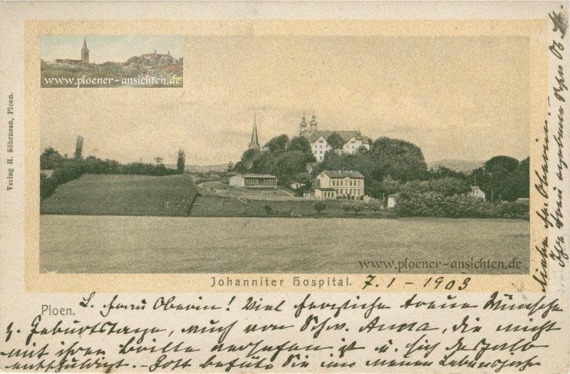 Plön - Johanniter Hospital - 1903