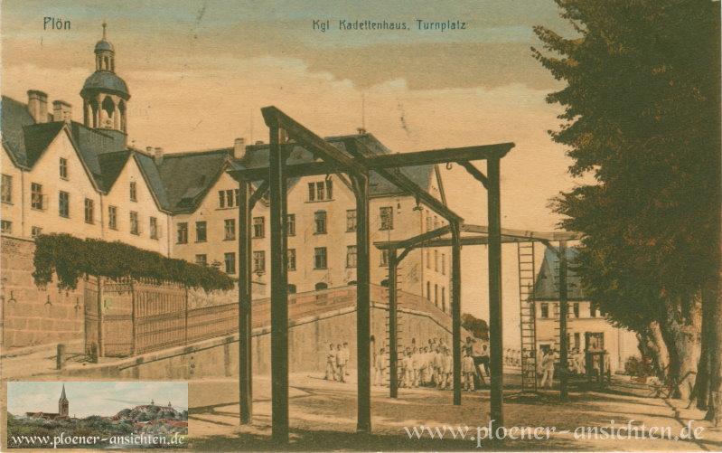 Plön - Kgl. Kadettenhaus Turnplatz - 1912