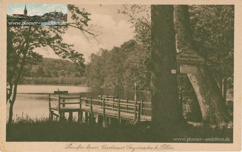 Seeufer beim Gasthaus Fegetasche bei Plön - 1929