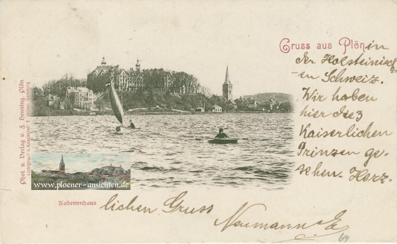 Plön i. Holstein - Schloss - 1905