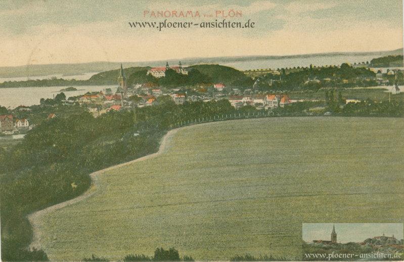 Panorama von Plön