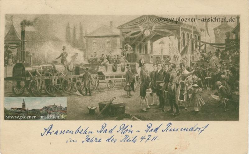 Strassenbahn Bad Plön - Bad Timmdorf im Jahre des Heils 4711