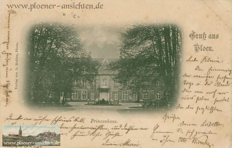 Gruss aus Plön - Prinzenhaus - 1897