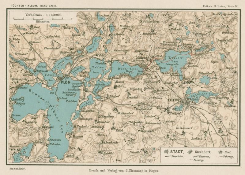 Holsteinische Schweiz Karte.Kategorie Landkarte